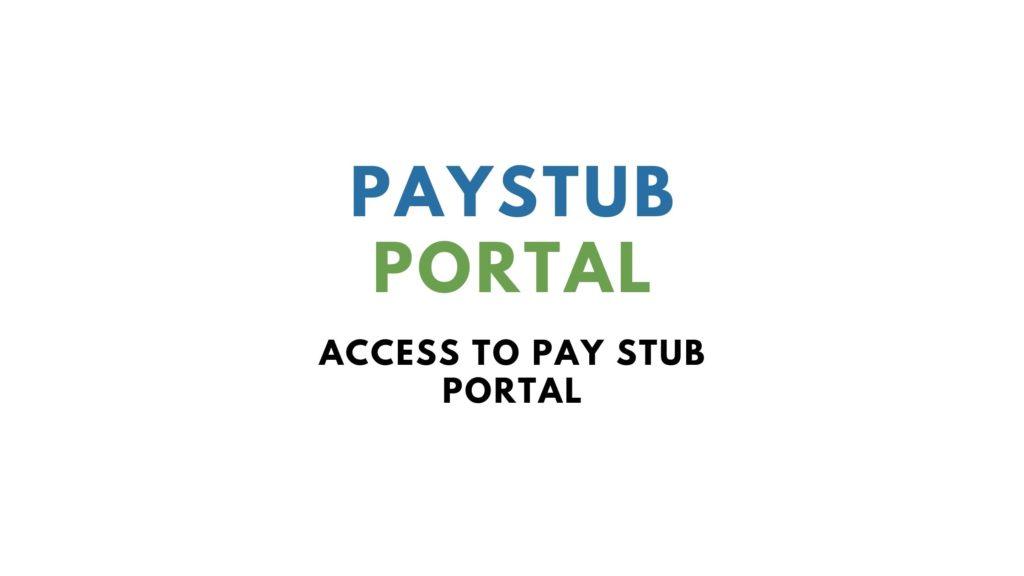 paystub portal